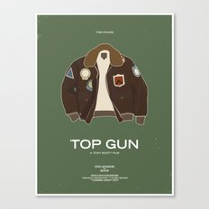 Dress The Part - Top Gun Canvas Print