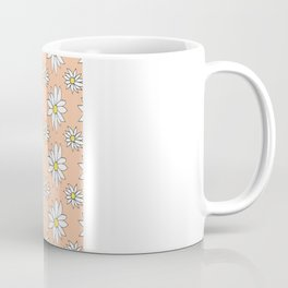 Fresh As A Daisy (Coral) Coffee Mug
