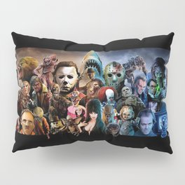 Classic Horror Movies Pillow Sham