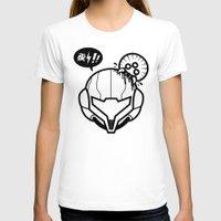 samus T-shirts featuring Samus by La Manette
