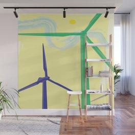 windmills Wall Mural