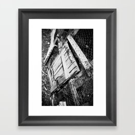 Wooden Door Framed Art Print
