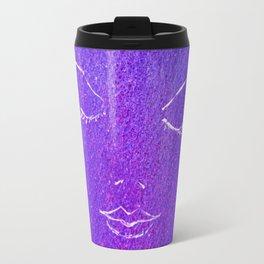 Mysterious Woman Travel Mug