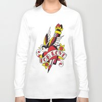 tatoo Long Sleeve T-shirts featuring Tatoo ART 5  by The Greedy Fox