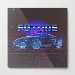 FUTURE past Metal Print