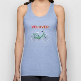 VeLover – Shopping – June 12th – 200th Birthday of the Bicycle Unisex Tank Top