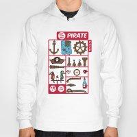 kit king Hoodies featuring pirate kit by blablasah