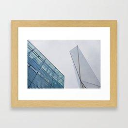 Sky Interrupted 2 Framed Art Print
