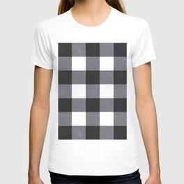 Gingham Dark Style T-shirt