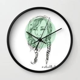 Braided Beauty Wall Clock