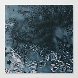 Tunafish Sandwich Wrap, Unravelled V Canvas Print