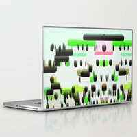super mario Laptop & iPad Skins featuring Super Mario  by Cristina Lobo