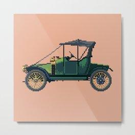 Antique car 2 Metal Print