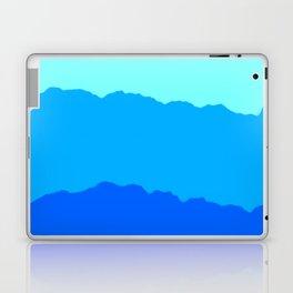 Minimal Mountain Range Outdoor Abstract Laptop & iPad Skin