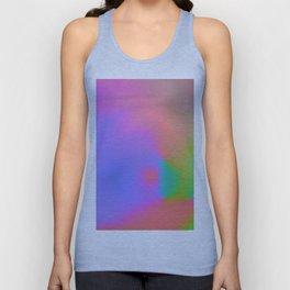 Iridescent Neon Rainbow Background No.1 Unisex Tank Top
