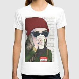 Hello My Name Is: Broke Bitch T-shirt