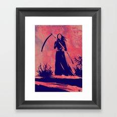Lady D Framed Art Print