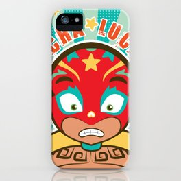 LUCHA LUCHA iPhone Case