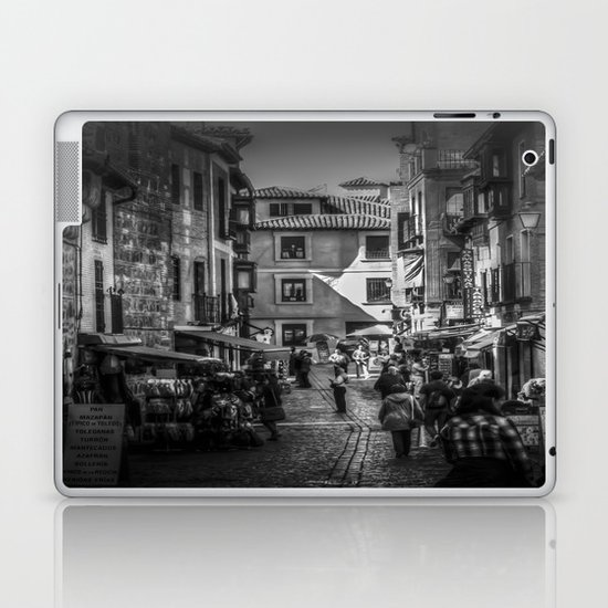 Toledo Street Scene Laptop & iPad Skin
