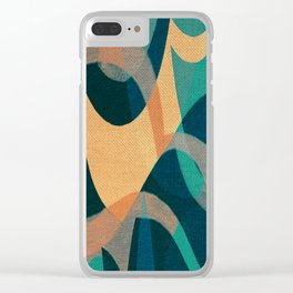 Lake Kaindy (Kazakhstan) Clear iPhone Case