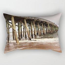 Beach Vibes Only Rectangular Pillow