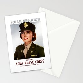 You Are Needed Now -- Join The Army Nurse Corps Stationery Cards
