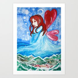 Winter Bringer Art Print