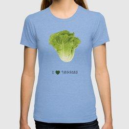Lettuce - I love veggies T-shirt