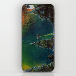 UFO Painting - Searchling -  iPhone Skin