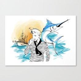 mornar Canvas Print