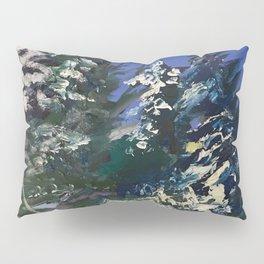 Forêt nordique d'hiver Pillow Sham