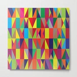 Geometric No. 10 Metal Print