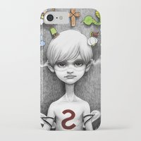 superheroes iPhone & iPod Cases featuring Superheroes SF by Otto Björnik