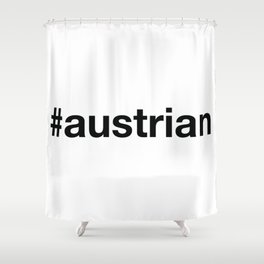 AUSTRIA Shower Curtain