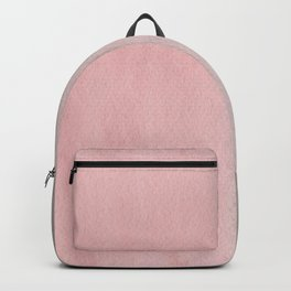 Gradient watercolor pink-gray Backpack