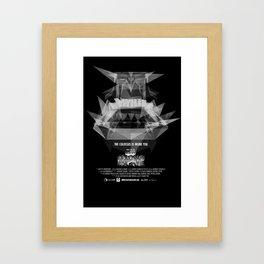 Colossus Escape  Framed Art Print