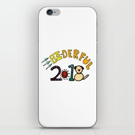 2018 Wang-derful Dog Doodles iPhone Skin