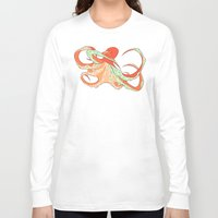 octopus Long Sleeve T-shirts featuring Octopus by Jemma Salume