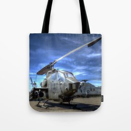 Bell AH-1 Cobra Helicopter Tote Bag