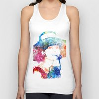 hepburn Tank Tops featuring Audrey Hepburn by Heaven7