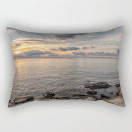 Sunset over the Ocean 7-21-18 Rectangular Pillow
