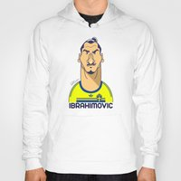 zlatan Hoodies featuring Zlatan from Sweden by Rudi Gundersen