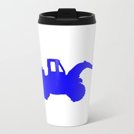 Kids Club - Digger Blue Metal Travel Mug