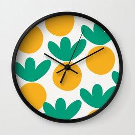 Minimalist Fruit Summer Pattern Wall Clock