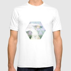 Eagle White MEDIUM Mens Fitted Tee