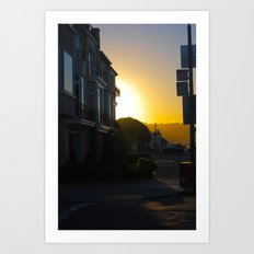 Sundown  Art Print