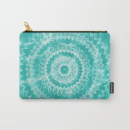 Pool Dream Mandala #1 #water #boho #decor #art #society6 Carry-All Pouch