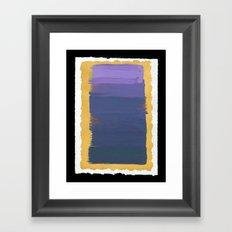 Yaakov's Ladder II (Return) Framed Art Print