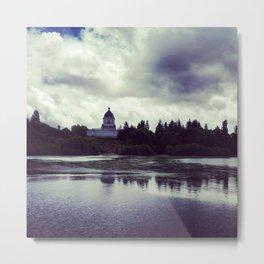 Washington State Capitol Metal Print
