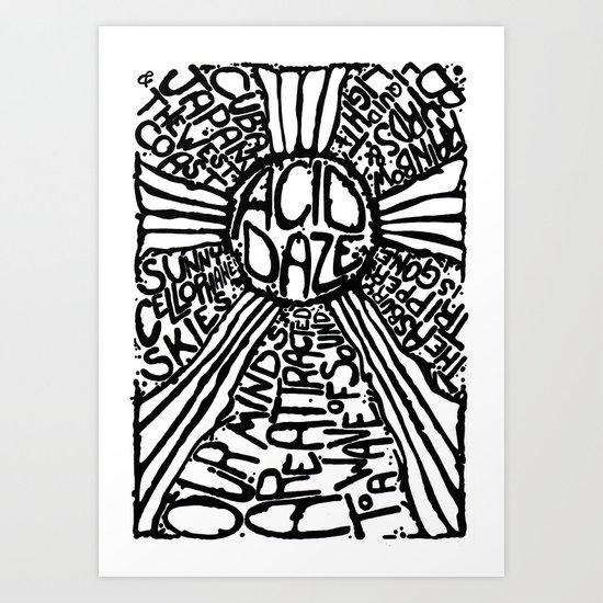 THE ASBURY TRIPPER Art Print